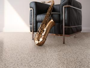 Jazz Chair with Sax