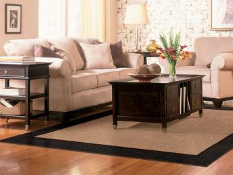 Area Rugs One Border