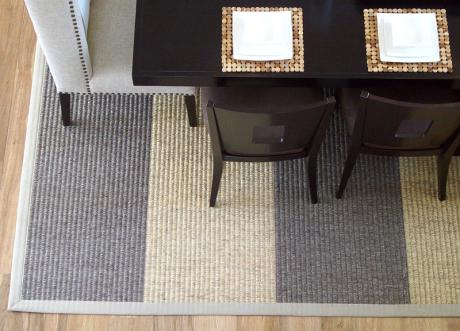 Creative Options striped rug