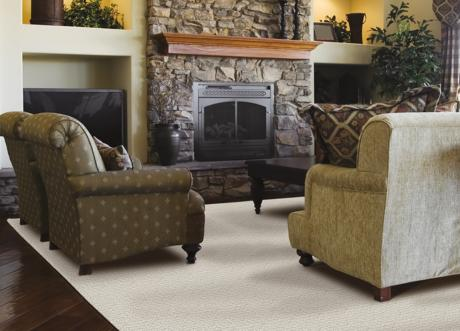 Cobblestone from the Couture carpet collection from Unique Carpets, Ltd.